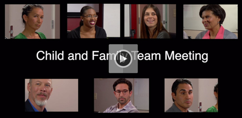 Child and Family Team Meetings Video