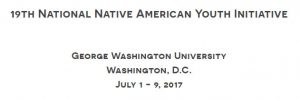 19th Annual National Native Youth Initiative