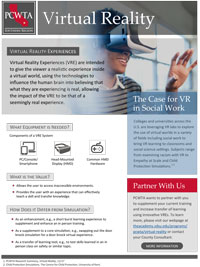 Virtual Reality flyer