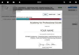 Certificate Printing Step 6