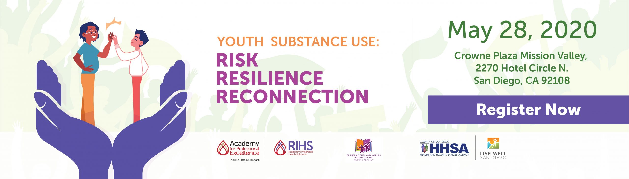 Youth substance use risk flyer